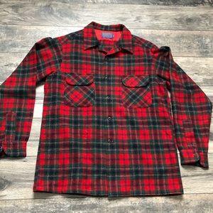 Pendleton Woolen Mills plaid flannel